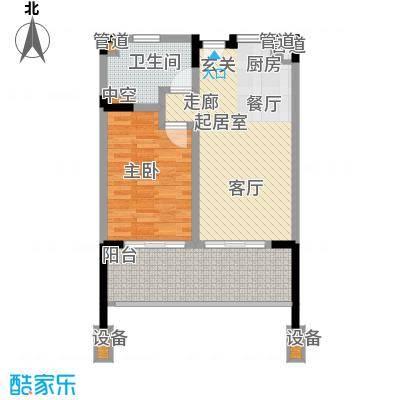 珊瑚宫殿80.32㎡珊瑚宫殿户型图海景公寓A3户型图1室2厅1卫1厨户型1室2厅1卫1厨