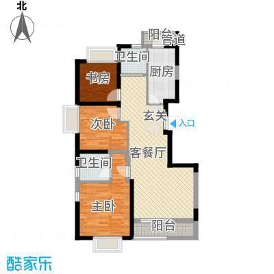 西岸国际花园112.00㎡西岸国际花园户型图C户型3室2厅2卫1厨户型3室2厅2卫1厨