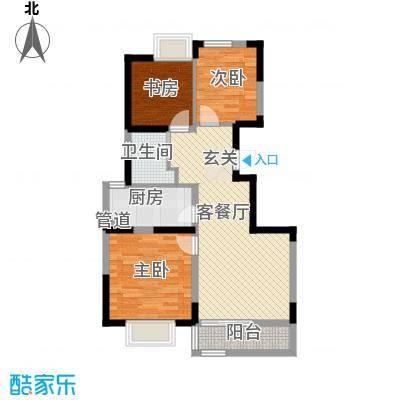 西岸国际花园93.00㎡西岸国际花园户型图D户型3室2厅1卫1厨户型3室2厅1卫1厨
