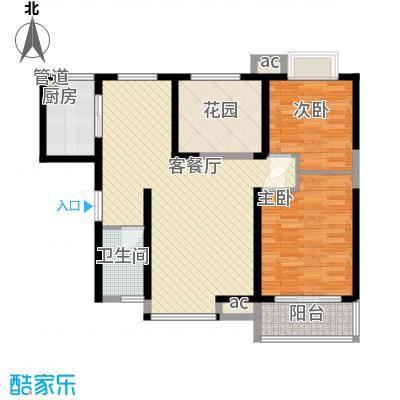 �灞1号105.89㎡�灞1号户型图A户型3室2厅1卫1厨户型3室2厅1卫1厨