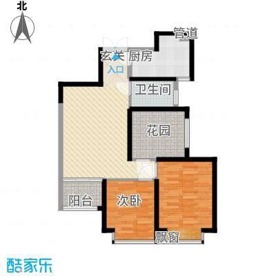 �灞1号88.09㎡�灞1号户型图C户型3室2厅1卫1厨户型3室2厅1卫1厨