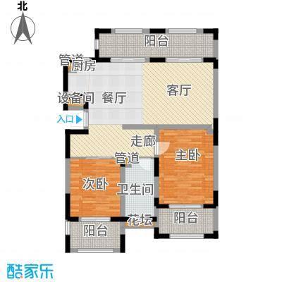 金泰・南燕湾金泰・南燕湾户型图A2-22室2厅1卫1厨户型2室2厅1卫1厨