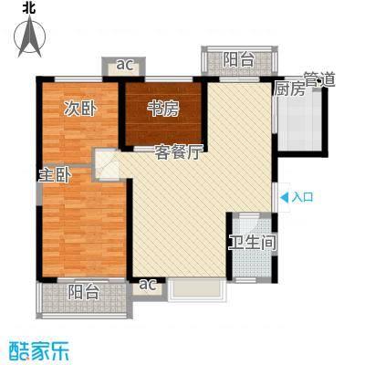 �灞1号110.00㎡�灞1号户型图13号楼户型3室2厅1卫1厨户型3室2厅1卫1厨