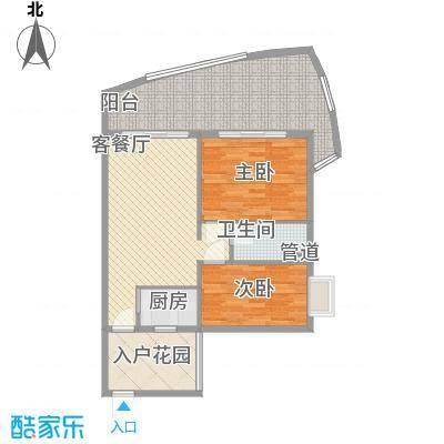 东方龙湾102.00㎡东方龙湾户型图户型图2室2厅1卫1厨户型2室2厅1卫1厨