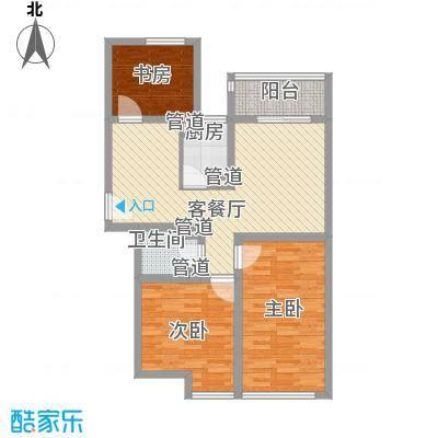 双威理想城99.42㎡双威理想城户型图户型F3室2厅1卫1厨户型3室2厅1卫1厨