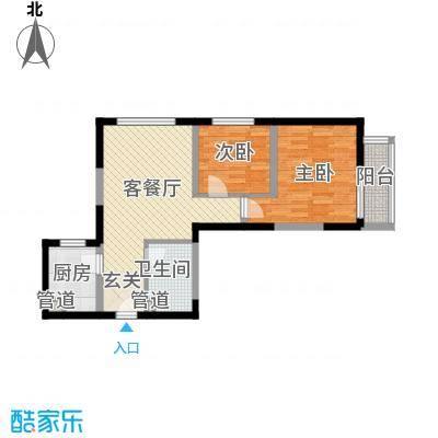 经发新北居72.47㎡经发新北居户型图C1户型2室2厅1卫1厨户型2室2厅1卫1厨