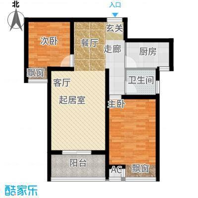 芊域阳光芊域阳光户型图限价商品房A户型2室2厅1卫1厨户型2室2厅1卫1厨