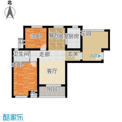 芊域阳光79.00㎡芊域阳光户型图限价商品房B户型户型10室