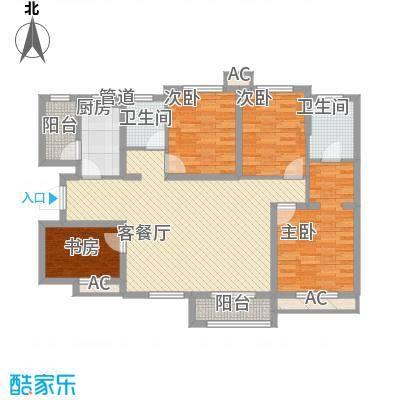 加州壹号130.78㎡加州壹号户型图3号楼G1户型3室2厅2卫户型3室2厅2卫