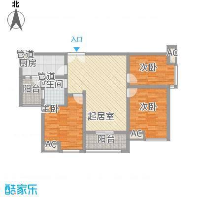 金辉天鹅湾102.00㎡金辉天鹅湾户型图12号楼102平户型3室2厅1卫1厨户型3室2厅1卫1厨