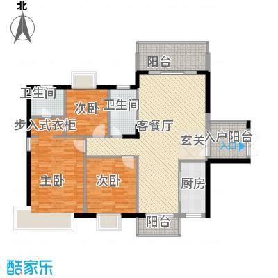 东方豪苑二期星钻123.82㎡东方豪苑二期星钻户型图11#B/12#B户型3室2厅2卫1厨户型3室2厅2卫1厨