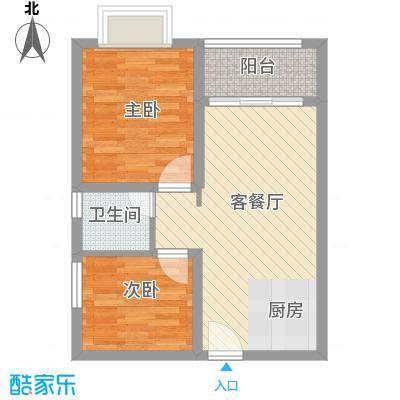 龙溪雅居63.00㎡龙溪雅居户型图A1户型2室2厅1卫户型2室2厅1卫