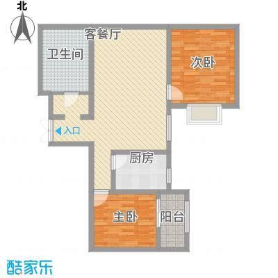 上水观园97.19㎡上水观园户型图D户型2室2厅1卫1厨户型2室2厅1卫1厨