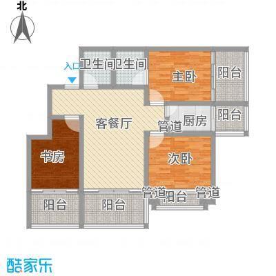 长乐壹号117.22㎡长乐壹号户型图户型图3室2厅2卫1厨户型3室2厅2卫1厨