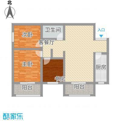 上水观园122.30㎡上水观园户型图G户型3室2厅1卫1厨户型3室2厅1卫1厨