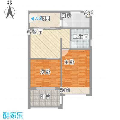万泉明珠77.38㎡万泉明珠户型图G户型2室1厅1卫1厨户型2室1厅1卫1厨