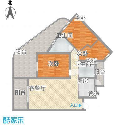 中州国际酒店144.45㎡中州国际酒店户型图C1户型3室2厅户型3室2厅