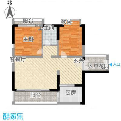珍珠海岸花园86.00㎡珍珠海岸花园户型图C户型1室2厅1卫1厨户型1室2厅1卫1厨