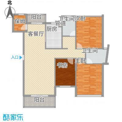 宝安椰林湾127.84㎡宝安椰林湾户型图B户型(售完)4室2厅2卫户型4室2厅2卫