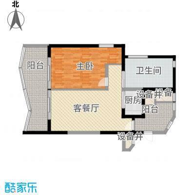 隆源神州半岛102.00㎡隆源神州半岛户型图D户型1室2厅1卫户型1室2厅1卫