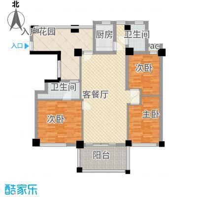 伊比亚河畔128.21㎡伊比亚河畔户型图24号楼B1户型3室2厅2卫户型3室2厅2卫