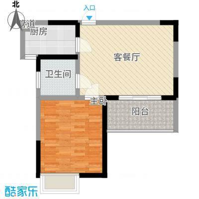 博鳌海威景苑64.83㎡博鳌海威景苑户型图B户型图1室1厅1卫1厨户型1室1厅1卫1厨