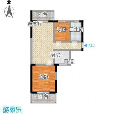 博鳌海威景苑79.33㎡博鳌海威景苑户型图F户型图2室1厅1卫1厨户型2室1厅1卫1厨