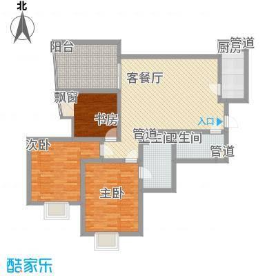 新界(长安)122.10㎡新界(长安)户型图F户型3室2厅2卫1厨户型3室2厅2卫1厨