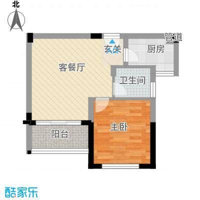 颐养居55.87㎡颐养居户型图D2户型图1室1厅1卫1厨户型1室1厅1卫1厨