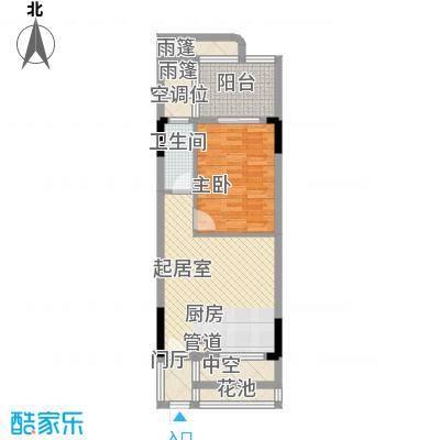 森林湖55.19㎡森林湖户型图C户型1室1厅1卫户型1室1厅1卫