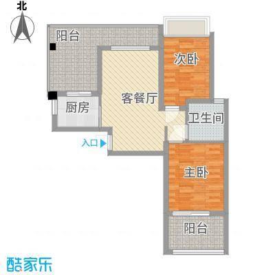 泉倾天下泉倾天下户型图B3户型2室2厅1卫1厨户型2室2厅1卫1厨