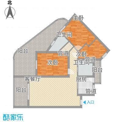 中州国际酒店144.45㎡中州国际酒店户型图C1户型图3室2厅2卫1厨户型3室2厅2卫1厨
