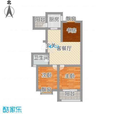北新巷小区60.00㎡北新巷小区2室户型2室