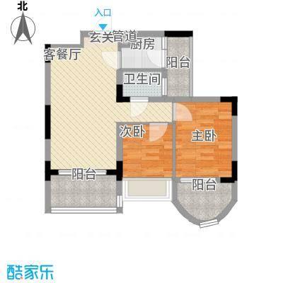 潜龙鑫茂花园潜龙鑫茂花园2室户型2室