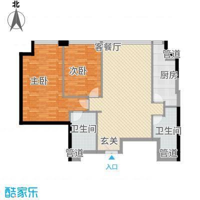 樱花园樱花园2室户型2室