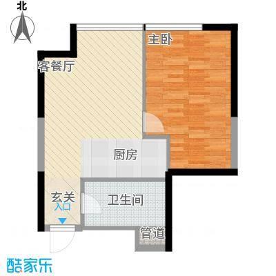 樱花园樱花园1室户型1室