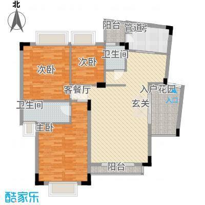 皓月花园112.49㎡深圳皓月花园一期户型图3户型10室