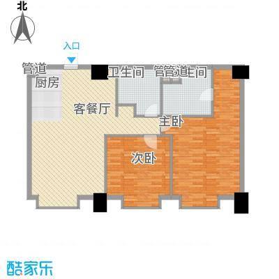 港汇中心135.10㎡港汇中心户型图1#楼C户型2室2厅1卫1厨户型2室2厅1卫1厨