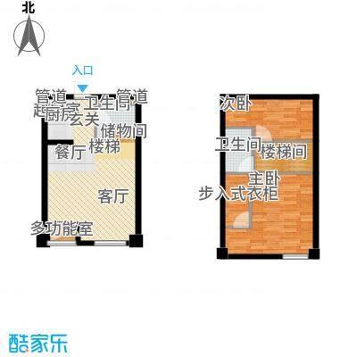 悦泰街里项目悦泰街里项目户型图8#公寓70.8R户型图户型10室