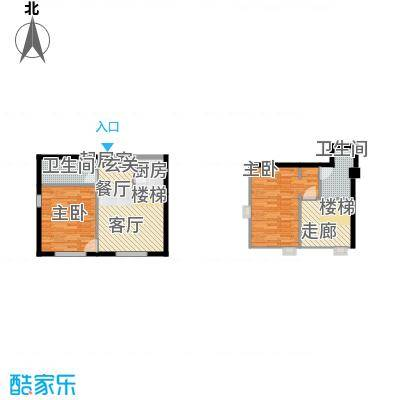 悦泰街里项目悦泰街里项目户型图8#公寓73.3N户型图户型10室