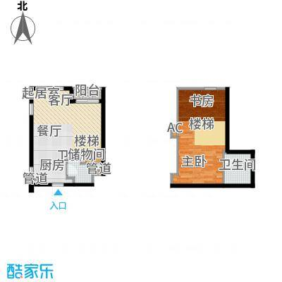悦泰街里项目悦泰街里项目户型图8#公寓50.8M户型图户型10室