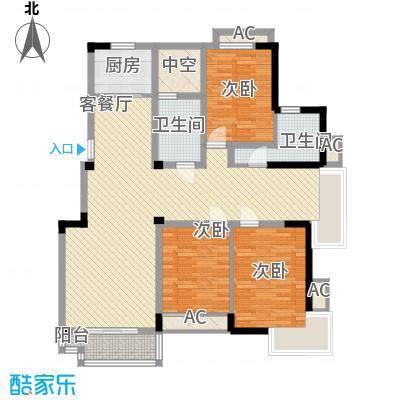 五一花园142.68㎡五一花园户型图3室2厅2卫1厨户型10室