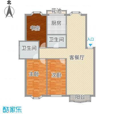 龙珍阁142.51㎡龙珍阁3室户型3室