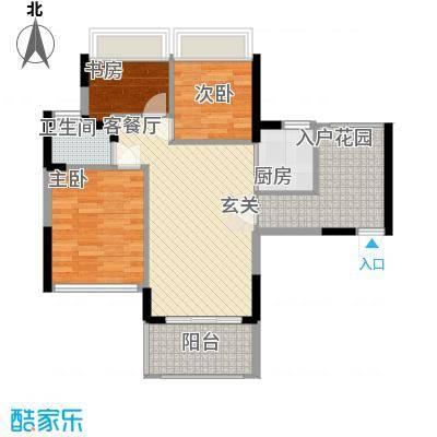 碧水龙庭90.00㎡深圳碧水龙庭户型图2户型10室