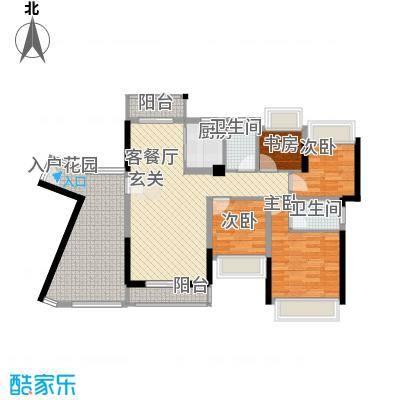 碧水龙庭124.00㎡深圳碧水龙庭户型图3户型10室