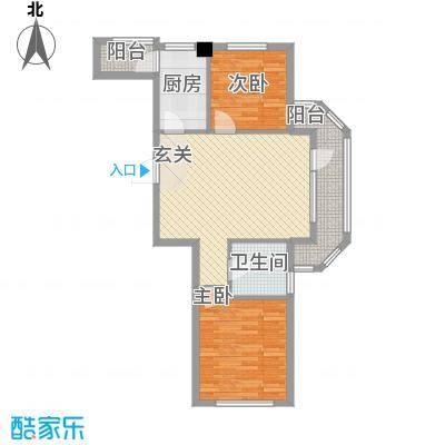 五朵金花高层五朵金花高层户型图2室户型图2室2厅1卫1厨户型2室2厅1卫1厨