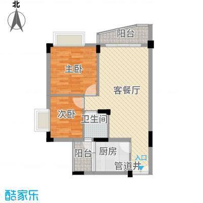 深圳皓月花园二期户型图4