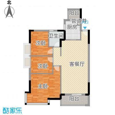盛世江南 3室 户型图