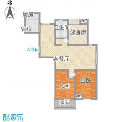阳湖名城129.00㎡Ga户型3室2厅1卫1厨