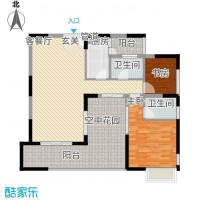 丰润花园76.00㎡丰润花园2室户型2室